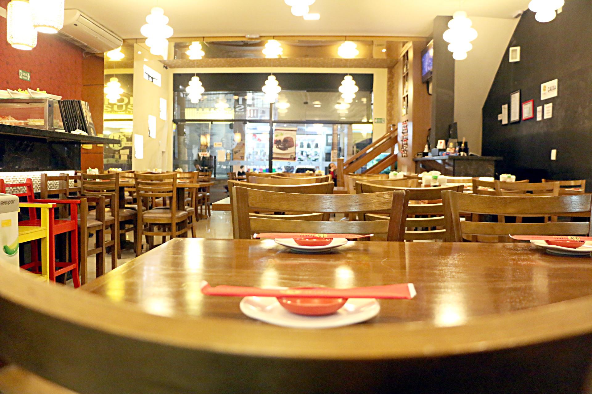 Toku Sushi - Ambiente Aconchegante